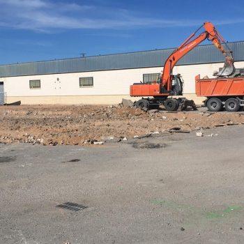 arrancar asfalto el Boreal